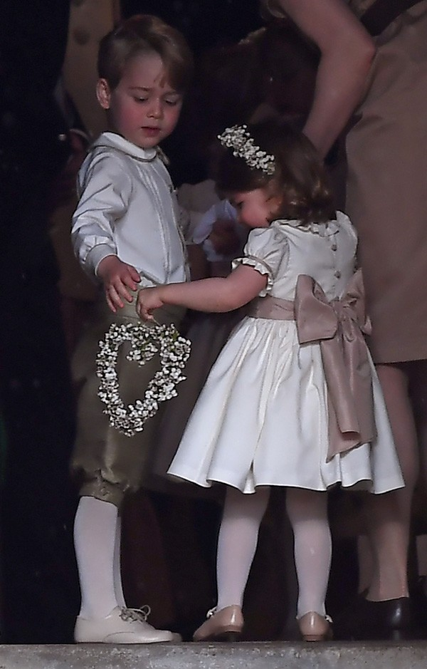 Príncipe George e princesa Charlotte (Foto: Getty Images)