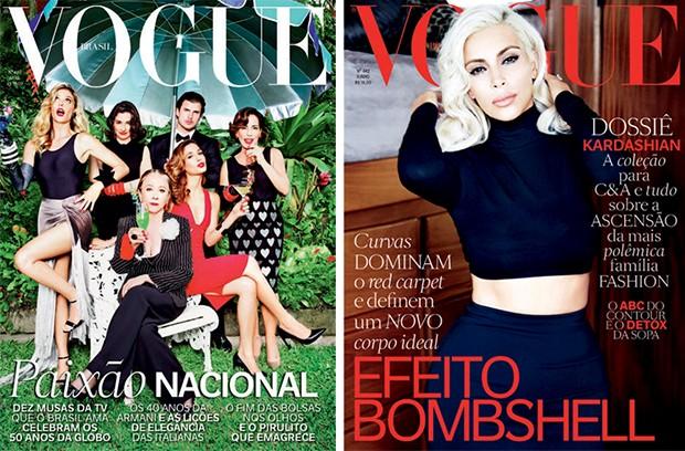 Na Vogue Brasil (Foto: Divulgação)