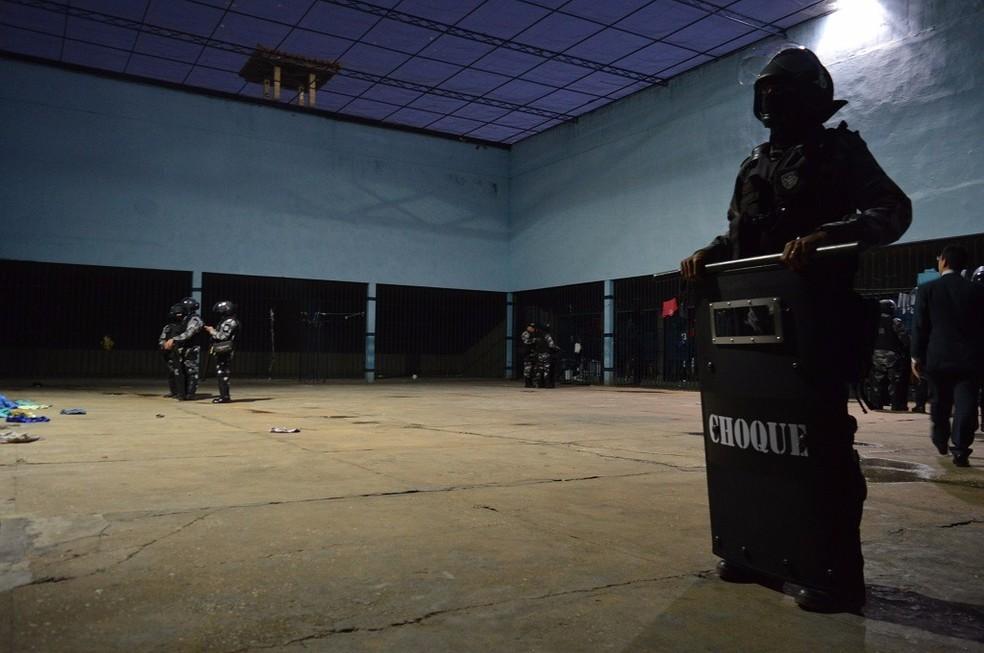 Operação investiga quadrilha que atuava em presídios do Piauí (Foto: Divulgação/Sejus)