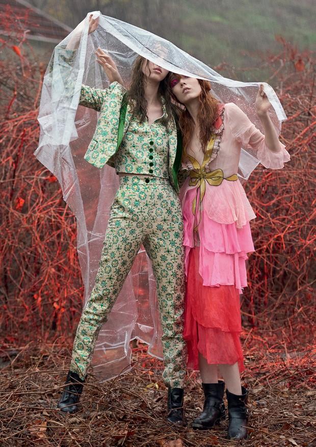 Festivais de música são cheios de imprevistos: saiba como manter a beleza no lugar (Foto: Zee Nunes/Arquivo Vogue)