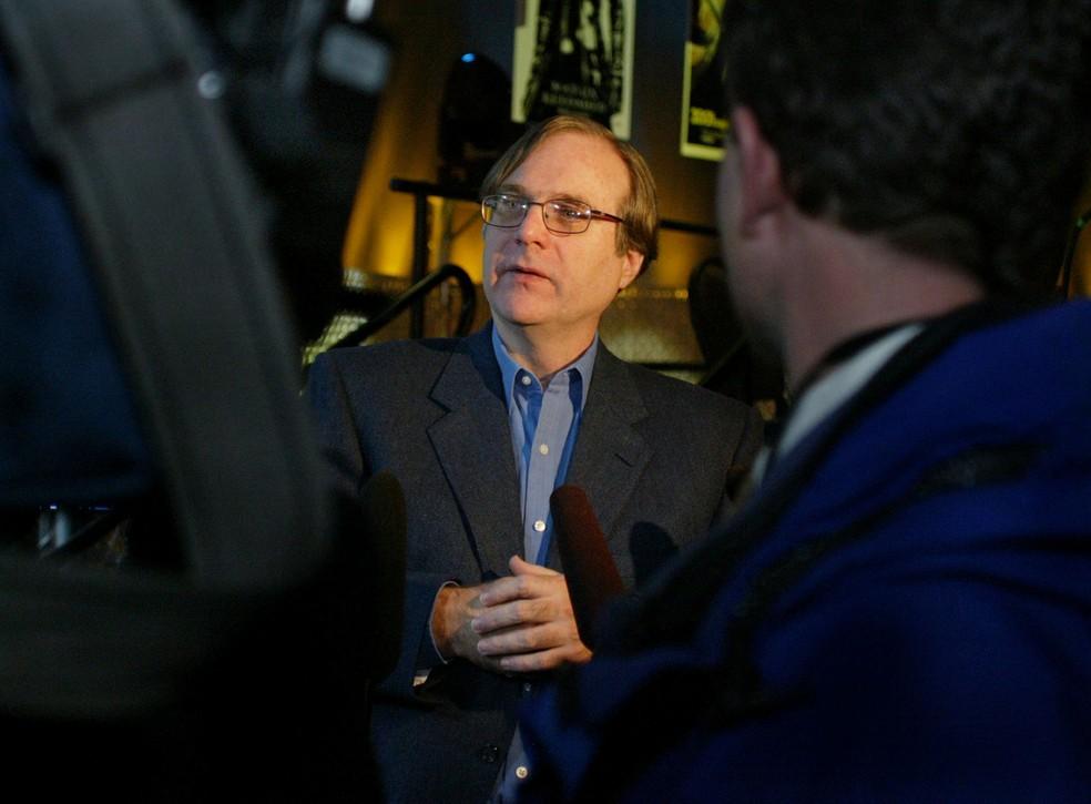 Paul Allen, cofundador da Microsoft, em foto de arquivo de 2003 — Foto: Anthony P. Bolante/Reuters