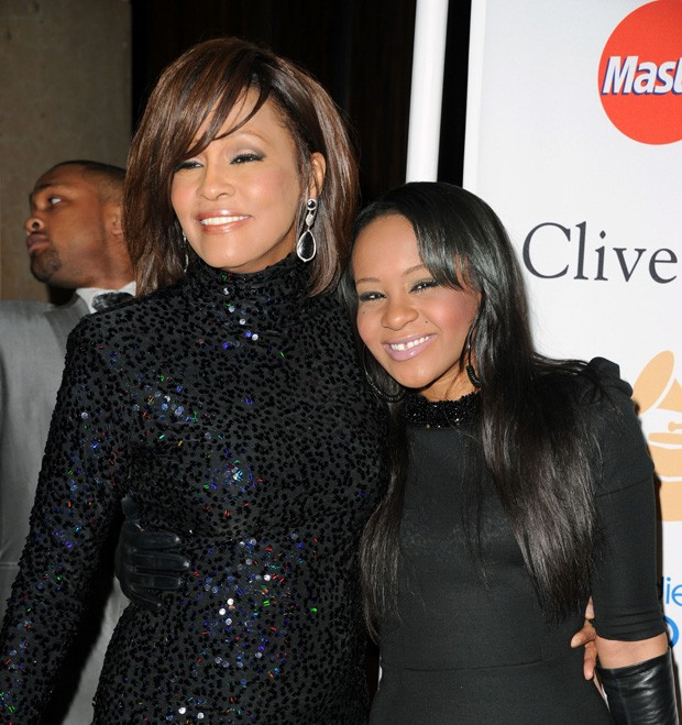 Whitney Houston e Bobbi Kristina em 2011 (Foto: Getty Images)