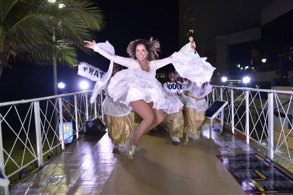 Primeiro dia de carnaval de Salvador 2020 - circuito Barra/Ondina — Foto: Elias Dantas/Ag. Haack