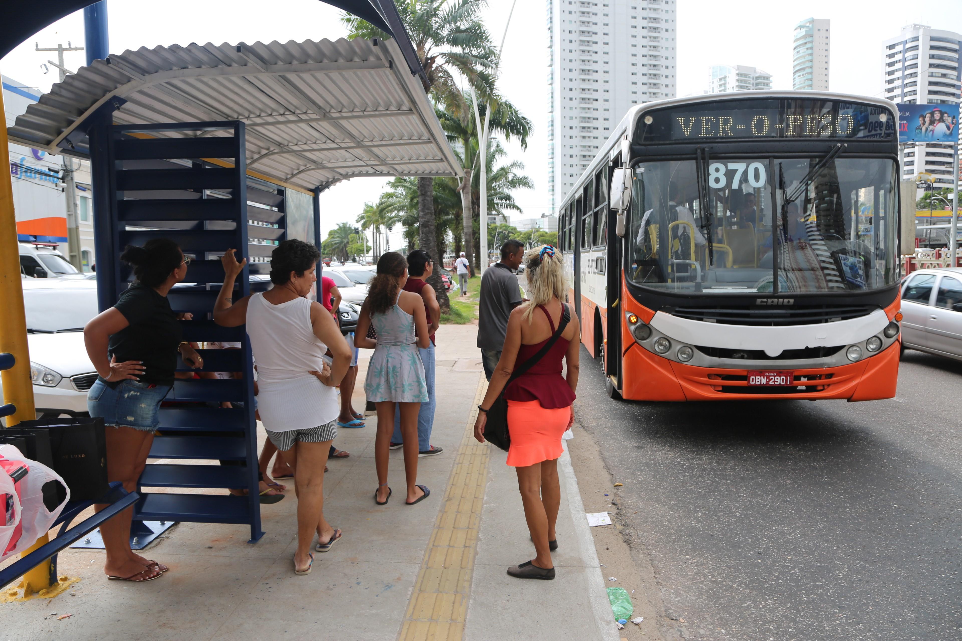Prefeitura de Belém diz que vai instalar 200 novos abrigos de paradas de ônibus - Notícias - Plantão Diário
