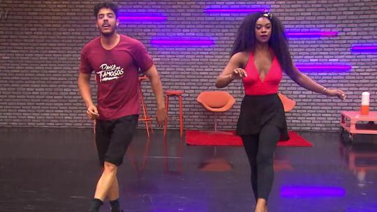 'Dança dos Famosos 2017': Elenco feminino ensaio ao som do rock; confira!
