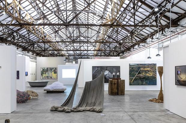 Colecionadores de arte criam galpão para acervo gigante de obras brasileiras (Foto: Ruy Teixeira)