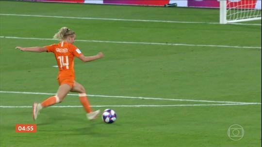 Holanda vence a Suécia por 1 a 0 pela Copa do Mundo Feminina