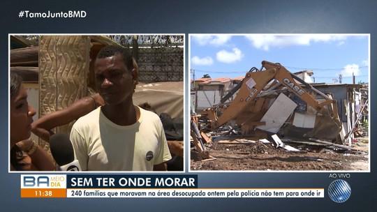 Drama: 240 famílias não têm para onde ir após desapropriação em Massaranduba