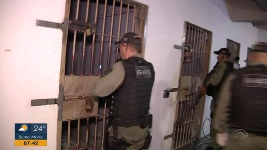 Susepe faz operação e transfere para presídio presos que estavam em delegacias superlotadas do RS