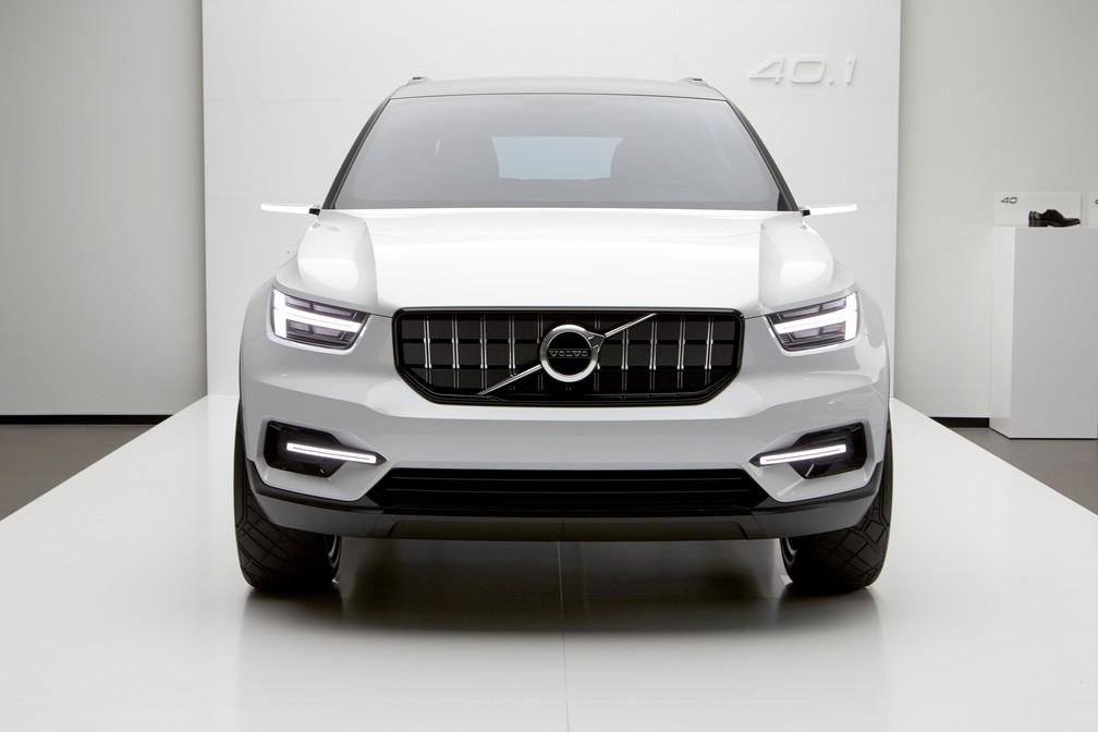 Volvo Concept 40.1 é uma prévia do futuro XC40 (Foto: Divulgação)