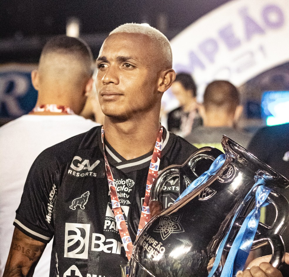 Igor Goularte é um dos jogadores que estão deixando o Paysandu — Foto: John Wesley/Ascom Paysandu