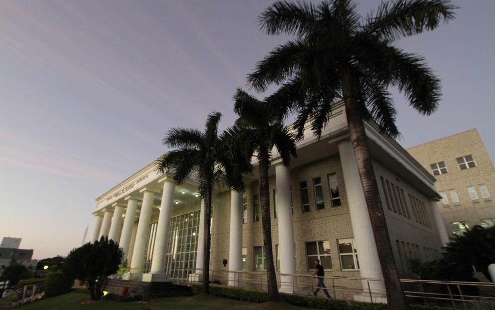 Justiça Federal em João Pessoa, na Paraíba (Foto: Kleide Teixeira/Jornal da Paraíba)