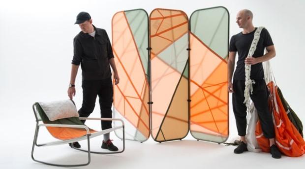Além das cadeiras, a coleção conta com um painel (Foto: Divulgação)