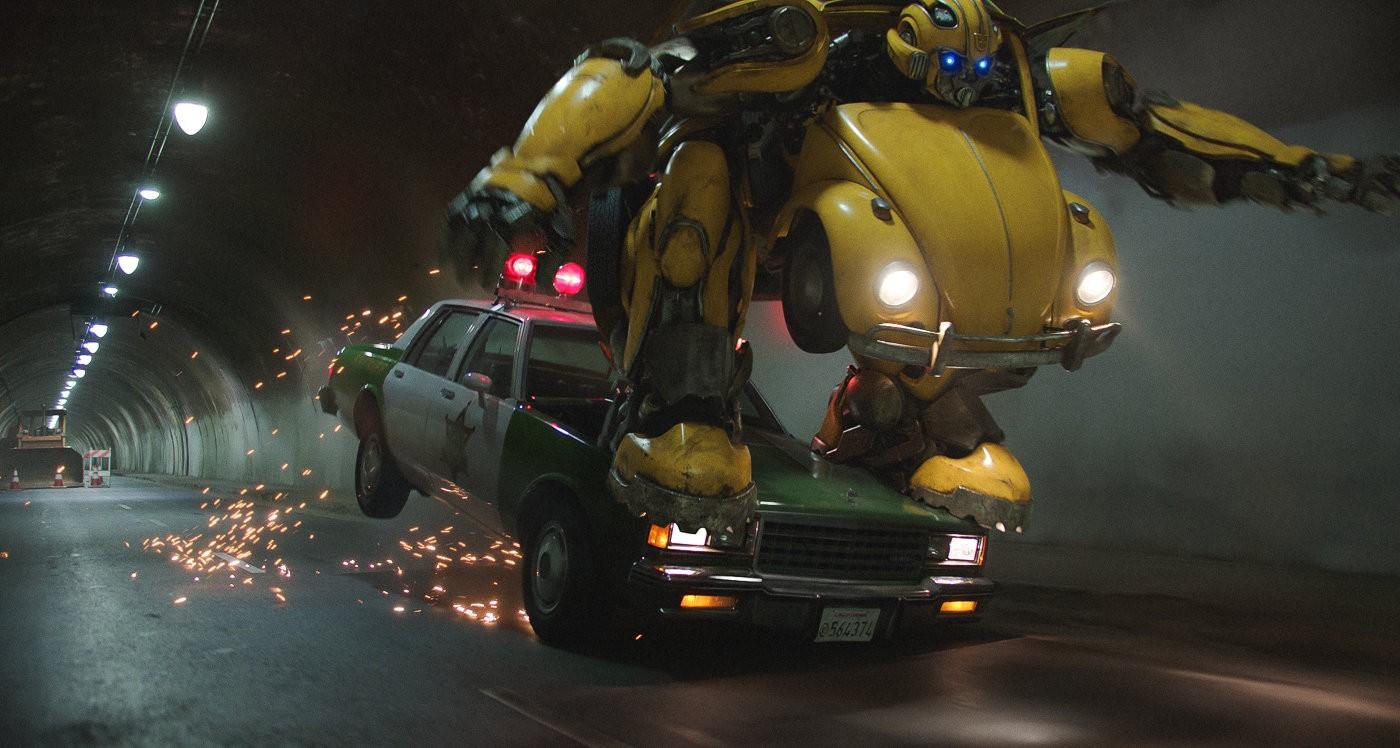 Cena de ação de Bumblebee (Foto: divulgação)