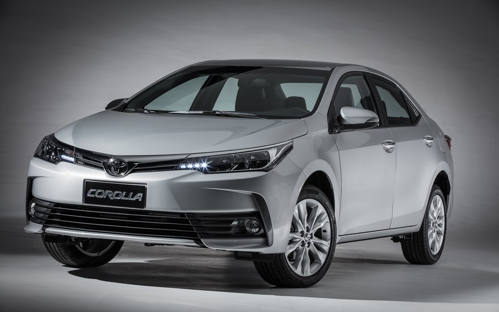 Toyota Corolla 2019, a geração anterior — Foto: Divulgação