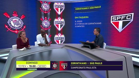 """Ana Thaís revela expectativa para Corinthians x São Paulo: """"Que eles consigam jogar porque está difícil"""""""