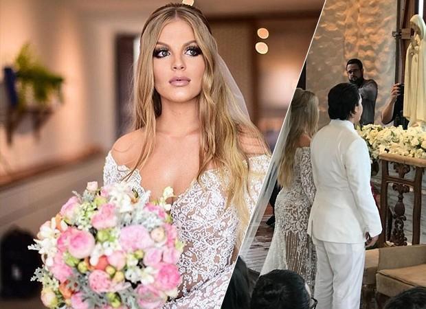 Casamento de Whindersson Nunes e Luísa Sonza (Foto: Reprodução/ Instagram/ Divulgação)
