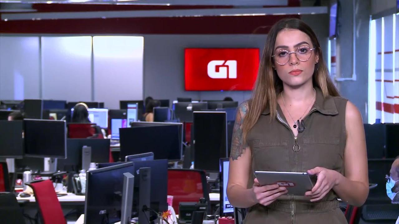 G1 em 1 Minuto: STF decide se André do Rap deve ser mantido solto ou voltar para cadeia