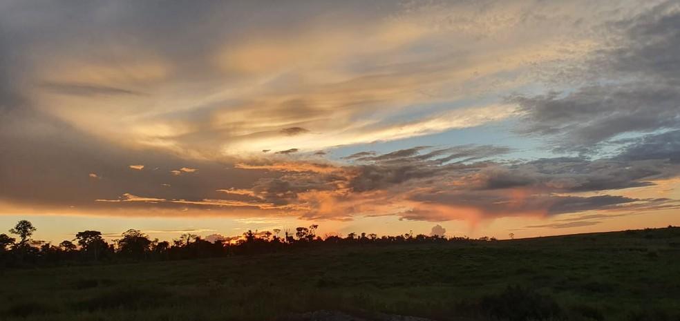 Após fim de semana de temperaturas amenas, Acre deve ter segunda-feira (14) de calor  — Foto: Paulo Roberto Parente/Arquivo pessoal