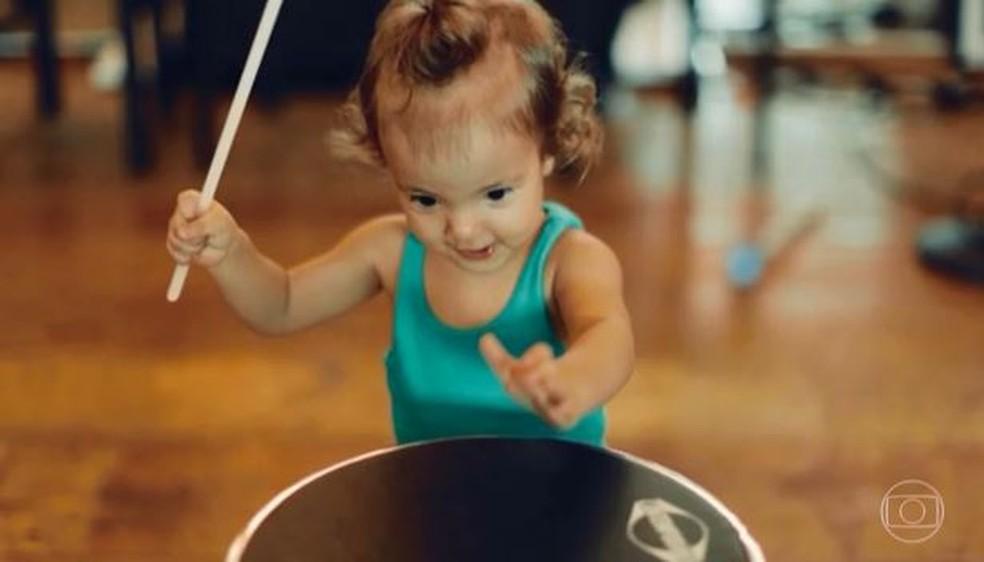 Marina, filha de Ivete Sangalo — Foto: Reprodução