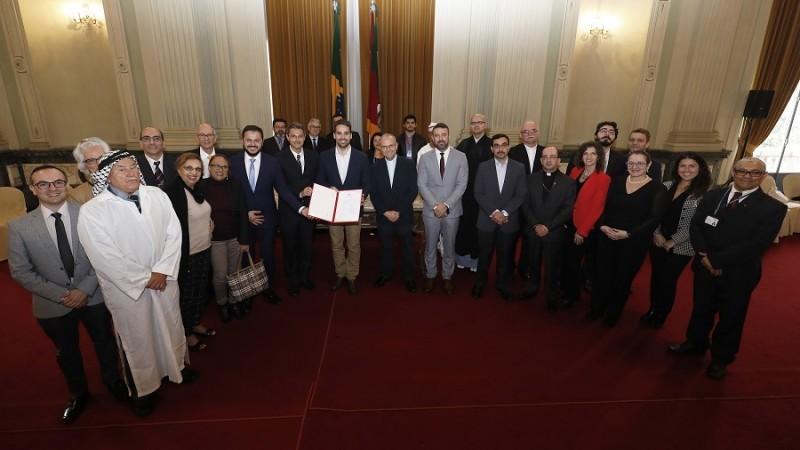 Governo do Rio Grande do Sul adere a cooperação em favor da liberdade religiosa  - Notícias - Plantão Diário