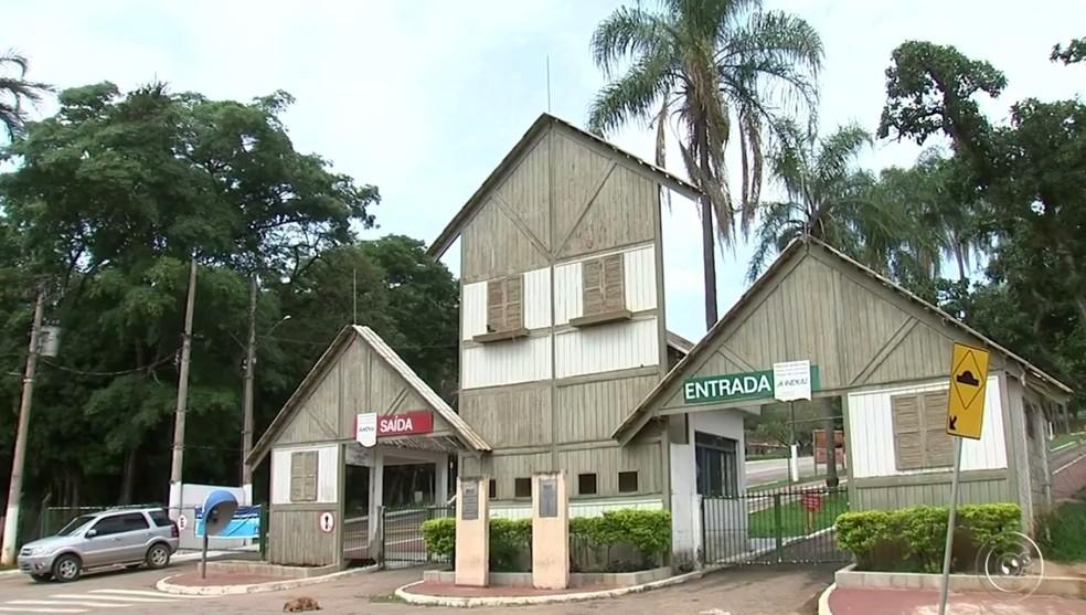 Parque do Corrupira está fechado em Jundiaí (Foto: Reprodução/TV TEM )
