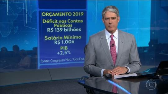 Congresso Nacional aprova Orçamento da União para 2019