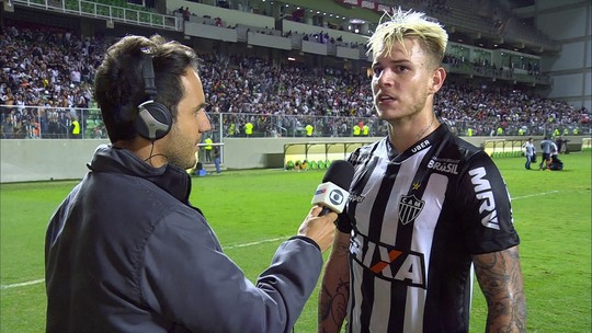 """Róger Guedes responde se o jogo foi sua despedida do Galo: """"Pode ser que sim"""""""