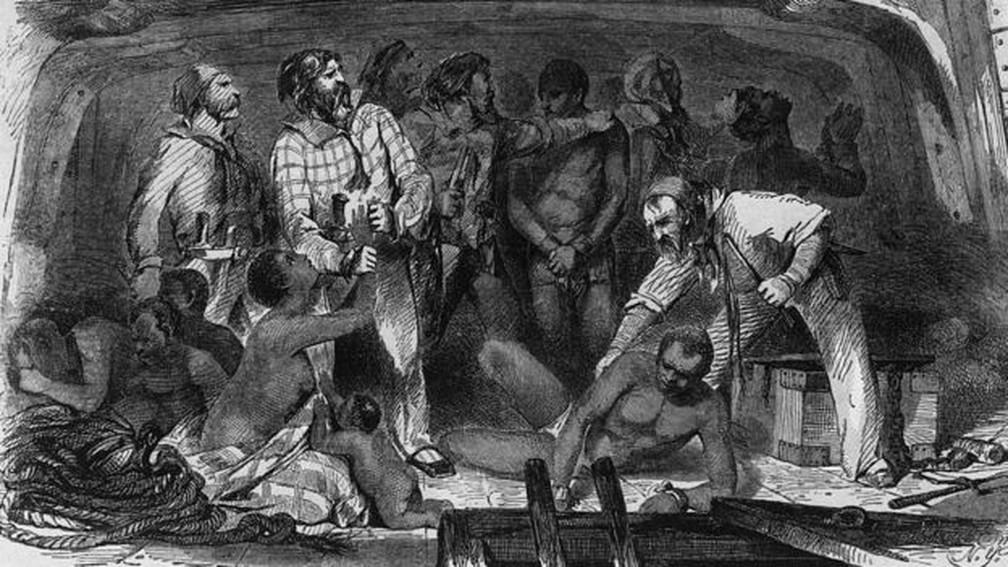 A escravidão durou mais de dois séculos nos Estados Unidos — Foto: Getty Images via BBC