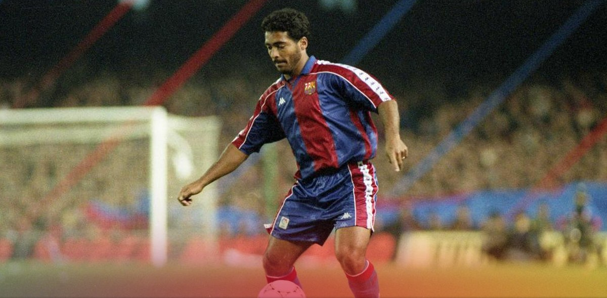 42ab30ca251a8 Barcelona celebra os 25 anos de hat-trick de Romário em goleada por 5 a 0  sobre o Real Madrid