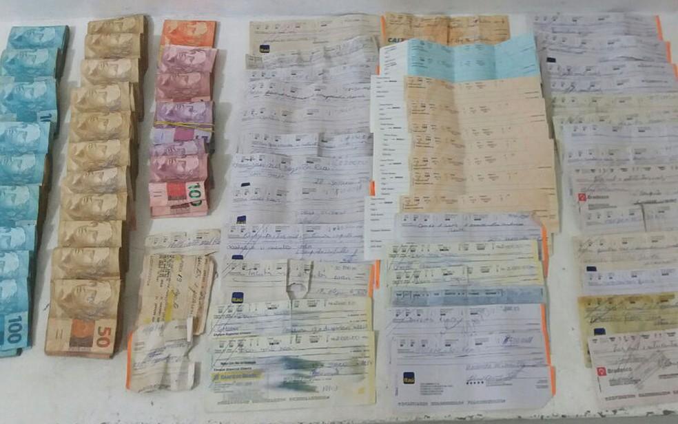 Origem do dinheiro será apurada pela Polícia Civil da Bahia (Foto: Divulgação / PM)