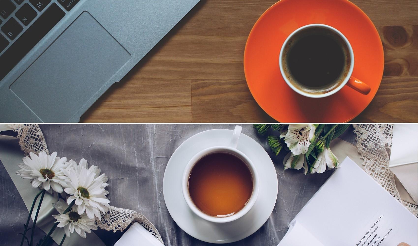 Café ou chá? Escolha pode estar relacionada com seus genes, diz estudo