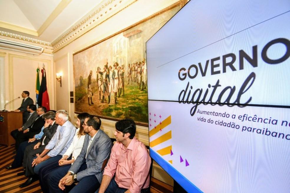 Aplicativo foi lançado oficialmente nesta sexta-feira em João Pessoa — Foto: Divulgação/Secom-PB