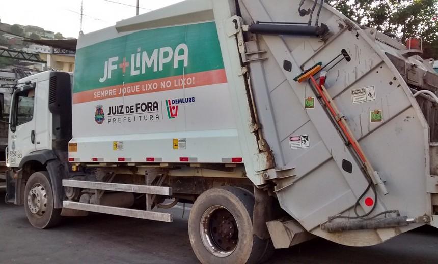 Durante isolamento social, quantidade de lixo diminui no Centro e aumenta nos bairros de Juiz de Fora