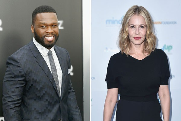 50 Cent e Chelsea Handler (Foto: Getty Images)