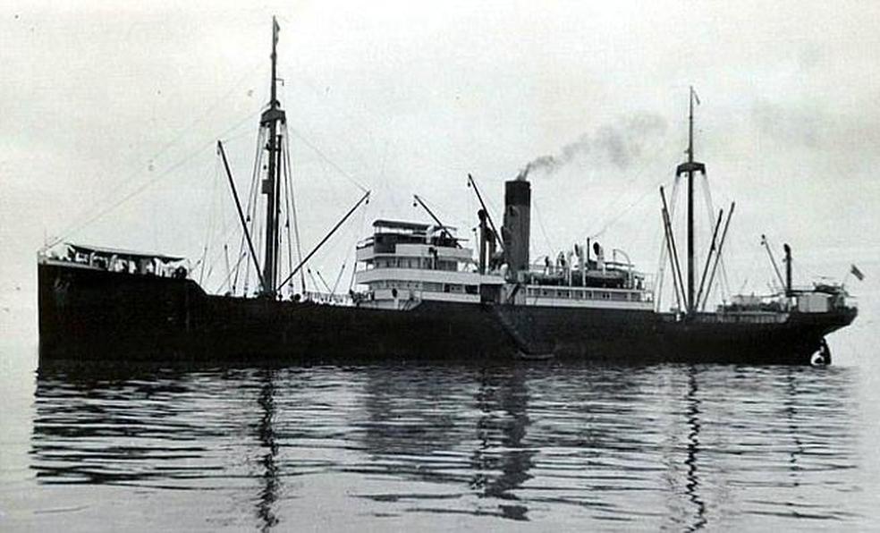 O SS Minden (Foto: Reprodução/Twitter/@Corriere )