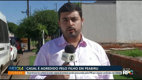 Rapaz é preso suspeito de agredir mãe e padrasto no Paraná