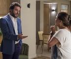 Rodrigo Lombardi e Elizangela em cena como Caio e Aurora em 'A força do querer' | Estevam Avellar/TV Globo