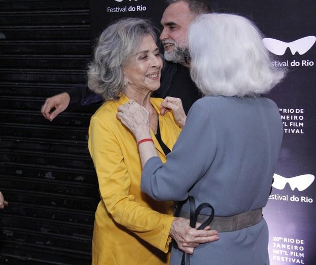 Betty Faria e Fernanda Montenegro (Foto: Wallace Barbosa/AgNews)
