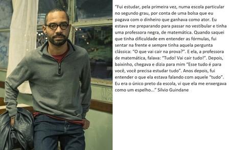 Silvio Guindane retorna na série  TV Globo