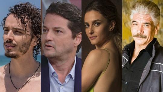 Jackson Antunes, Marcelo Serrado,  Priscila Steinman e Gabriel Stauffer participam da segunda temporada