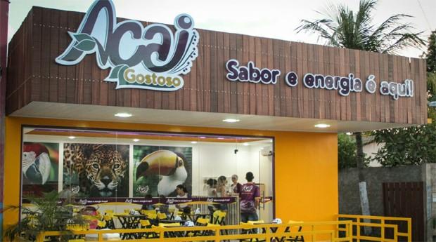 Loja da Açaí Gostoso em Boa Vista (Foto: Divulgação)