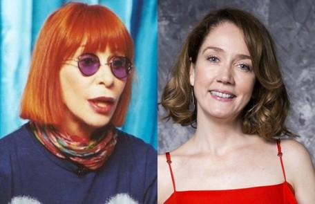 A Camila Morgado caberá o papel de Rita Lee Divulgação e TV Globo