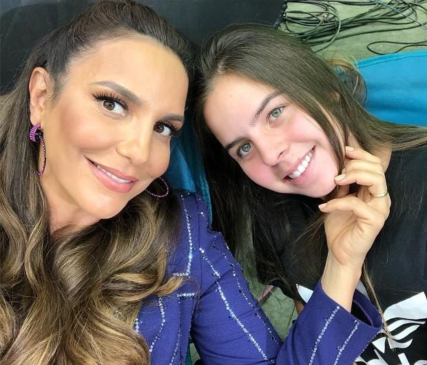 Ivete Sangalo e Maria Sangalo (Foto: Reprodução/Instagram)