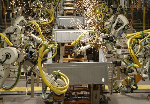 Fábrica de caminhões da Ford nos EUA ; emprego nos EUA ; produção industrial nos EUA ;  (Foto: Getty Images)