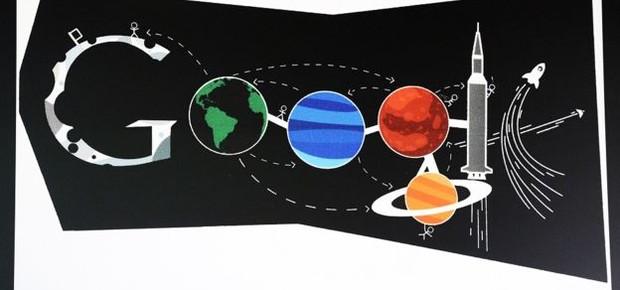 """A competição """"Doodle 4 Google"""" convida estudantes americanos a redesenhar o logo da homepage do Google e premia o melhor desenho (Foto: Getty Images via BBC)"""