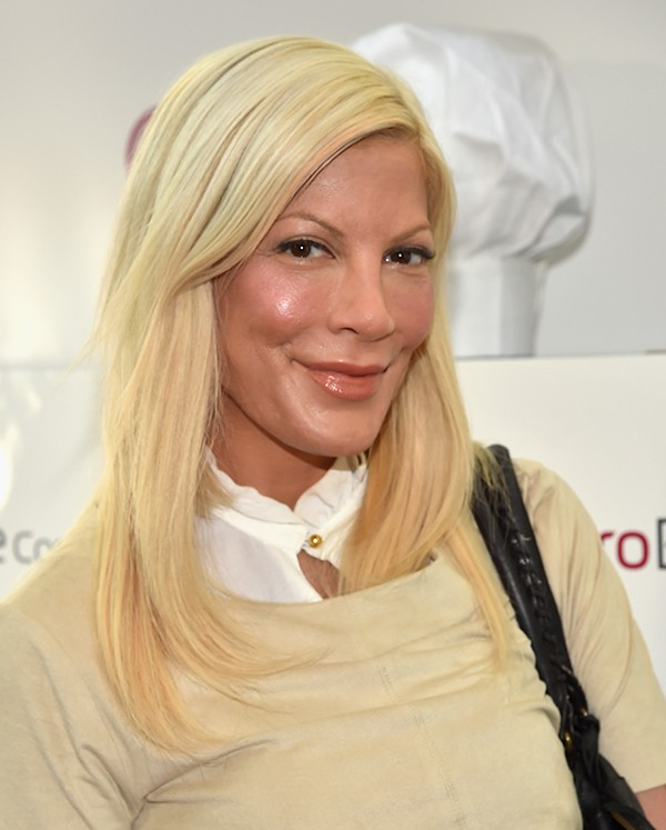 Tori Spelling durante um evento em Hollywood (Foto: Getty Images)