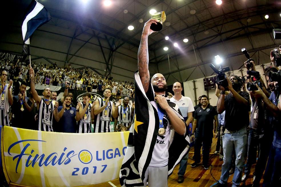 Botafogo foi campeão da Liga Ouro em 2017 (Foto: Vitor Silva/SSPress/Botafogo)