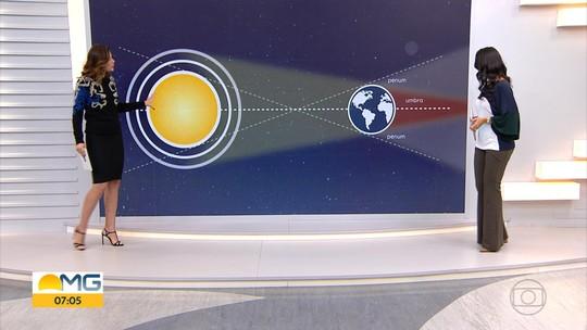 Eclipse lunar mais longo da história poderá ser observado em BH a partir das 17h34