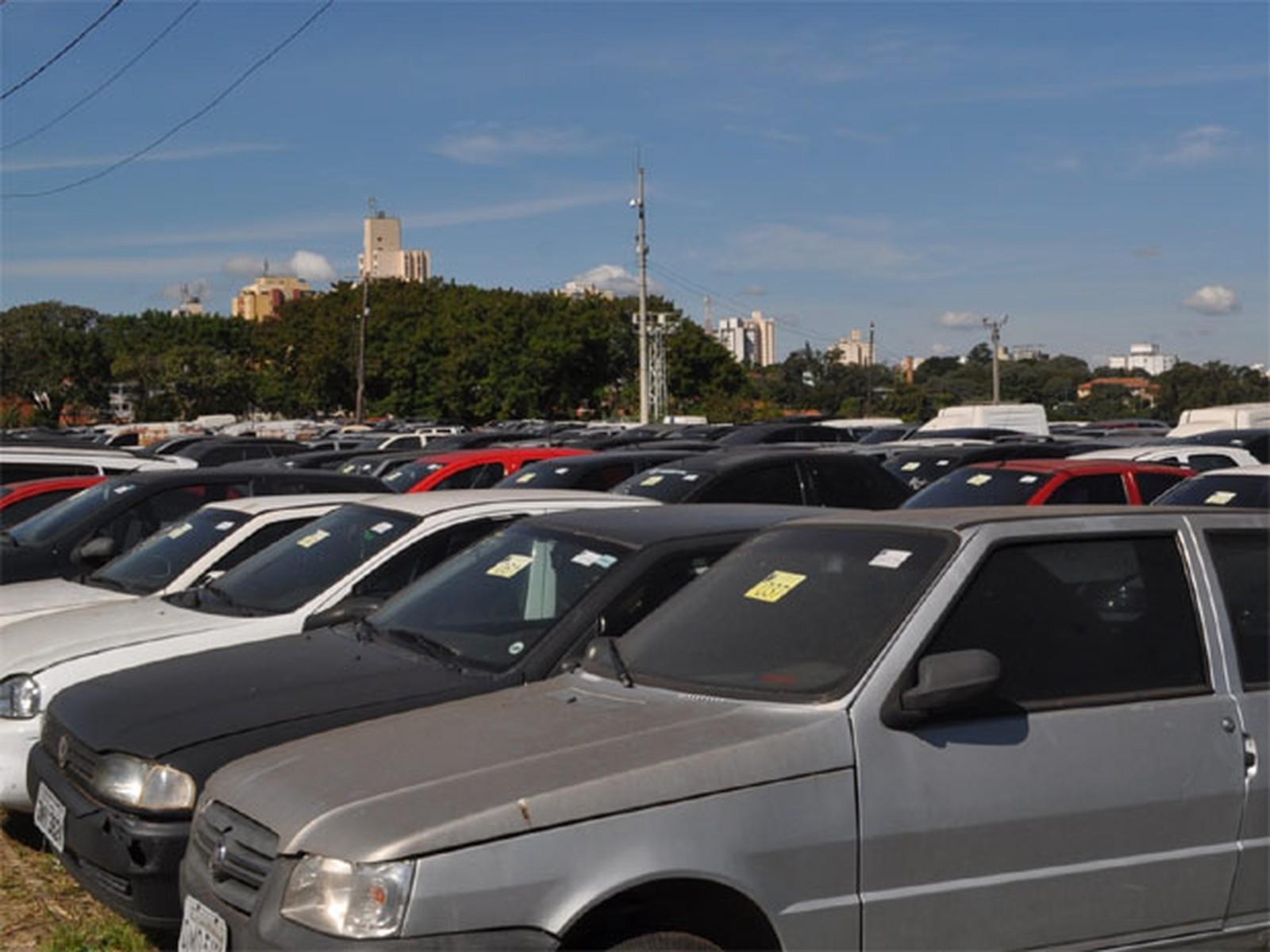 Detran-SP realiza leilão online de 418 veículos apreendidos em Campinas